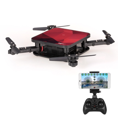 SMRC S1 Wifi FPV 2.0MP Caméra 3D Flip Altitude Tenir Pliable Mini RC Drone Quadcopter