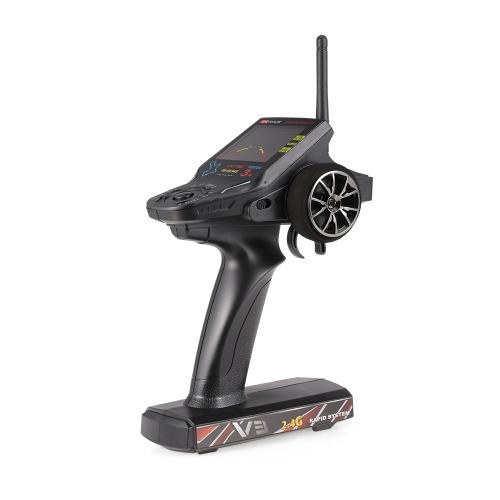 Nadajnik zdalnego sterowania WL Tech 2.4G V3 w zestawie odbiornika obrazu 720P z transmisją obrazu 5.8G