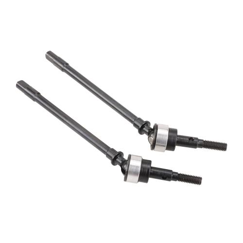 Przednia i tylna oś Uniwersalny zestaw wału napędowego CVD ze stali nierdzewnej dla 1/10 RC Crawler Axial SCX10 Car