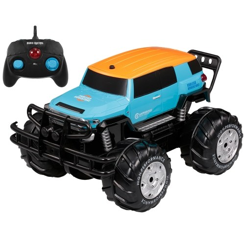 YED1601 1/10 2.4Ghz 4WD Big Wheel Off-road Земноводное транспортное средство Cross Country Car Land and Water Toys
