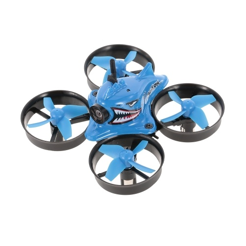 Blue Shark Micro Tiny 5.8G 1000TVL Camera Coreless RC Racing Quadcopter RC Drone with FPV Goggles RTF