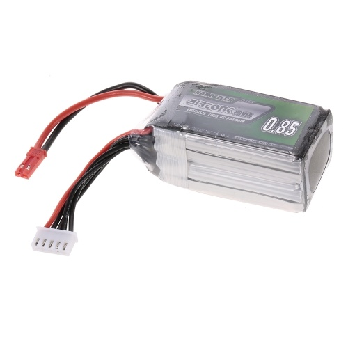14.8V 850mAh 30C 4S Rechargeable Li-Po Battery with JST Plug for RC Drone Quadcopter Airplane Car Truck