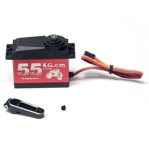 CYS-S0650 Large 55Kg HV High Torque Metal Gear Digital Servo for RC Car Boat Airplane HPI Rovan Km Baja 5B 5T