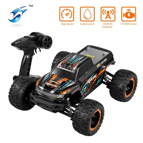 Linxtech 16889A 1/16 4WD RC Car 45km/h Brushless Motor RC Race Truck Car Big Foot Off Road Car Toy