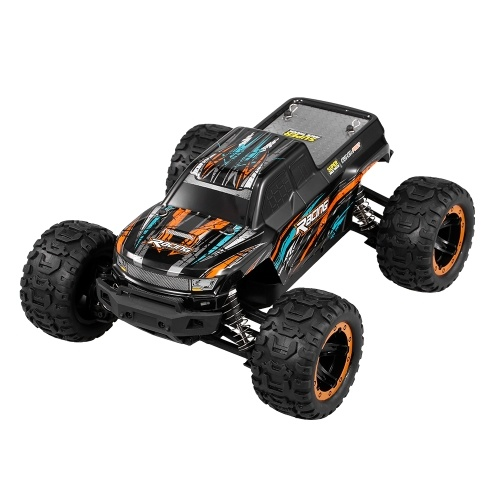 Linxtech 16889A 1/16 4WD RC Car 45km/h Brushless Motor RC Race Truck Car Big Foot Off Road Car Toy Image