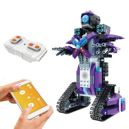 333PCS 2.4GHz Telecomando Robot RC Building Block Robot App Controllato Robot educativo RC