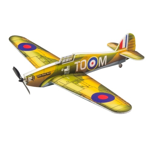 DWH E28 Hurricane RC Airplane Outdoor Flight Toys DIY Assembly Model(No Battery)