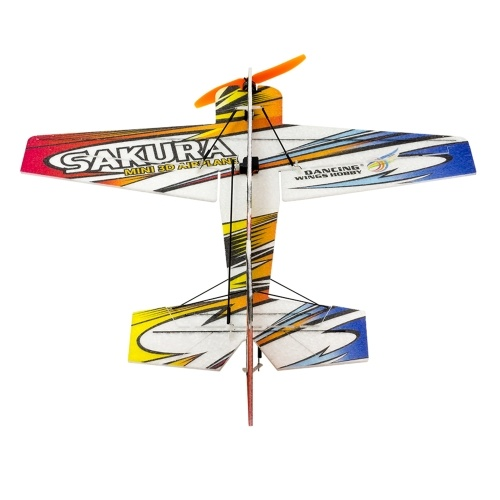 DWH E210 SAKURA RC Airplane Outdoor Flight Toys DIY Assembly Model No Battery(KIT Version)