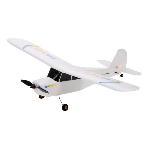 SEA EAGLE 3CH 2.4GHz 3-6-Axis 3D Aerobatic Controle Remoto Planador 515mm Wingspan RTF Outdoor Toy para crianças adultos iniciantes