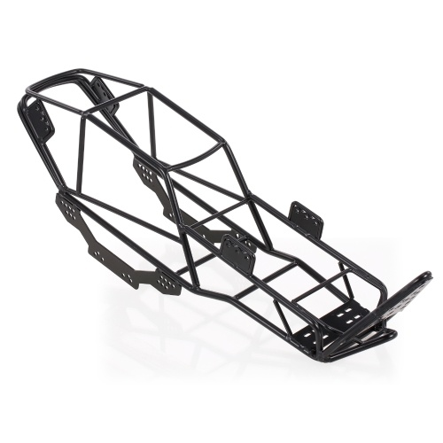 V Steel Roll Cage Frame Body Chassis Compatible with 1/10 AXIAL SCX10 90022 90027 RC Rock Car Crawler Climbing Truck Replacement Image