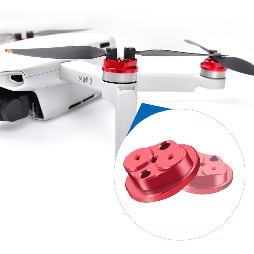 Compatible with DJI Mini 2 Motor Cover Cap Protector Kit Scratchproof Mini 2 Drone Accessories