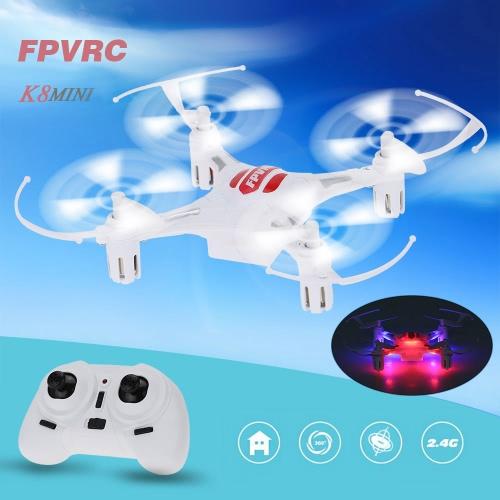 Original FPVRC K8MINI 2.4G 4CH 6-Axis Gyro RTF RC Quadcopter Mini Drone with 3D Flips Headless Mode Auto-return