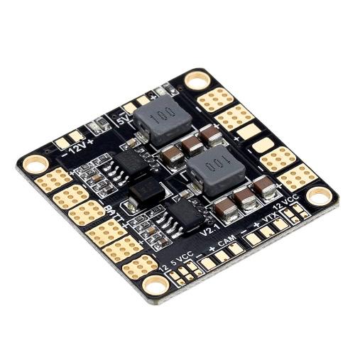 4-Layers Upgraded Power Distribution Board PDB PCB with 2 BEC 5V & 12V for RC QAV250 DJI F450 F550 Quadcopter