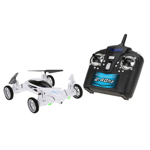 Original SY X25 2.4G 4CH 6-Axis Gyro Air-Ground RC Flying Car with 2.0MP Camera 360 Degree Flips Auto Return Function