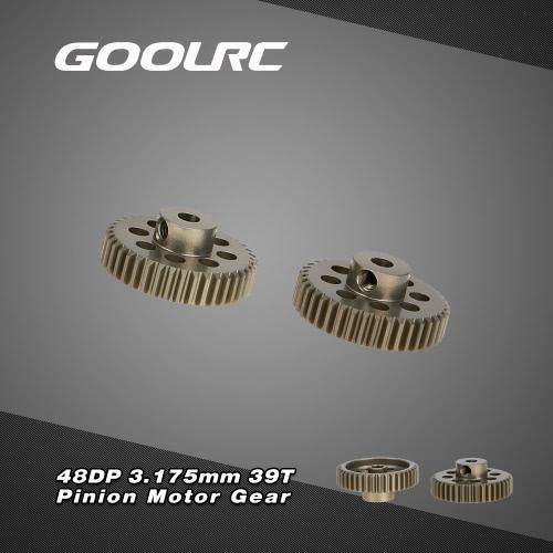 Spazzolato 2Pcs GoolRC 48DP 3,175 mm 39T pignone motore per auto RC motore Brushless