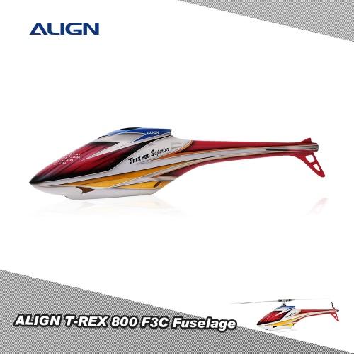 Originale elicottero ALIGN T-REX 800 F3C RC Ricambi Accessori F3C fusoliera HF8001T adatto per T-REX 800 Superior 700E