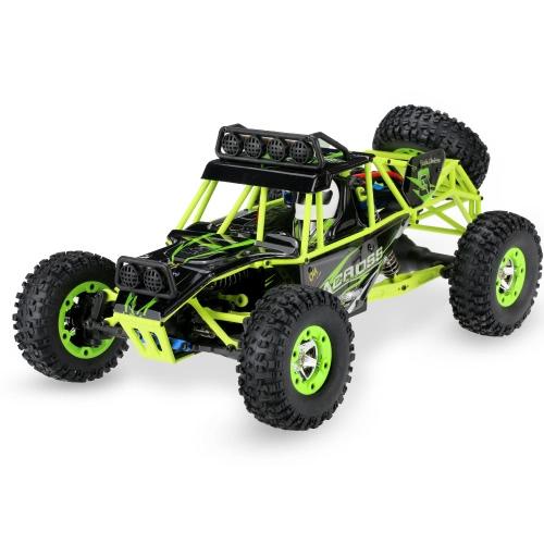 オリジナルWltoys 12428 1/12 2.4G 4WD電動ブラシクローラRTR RCカー
