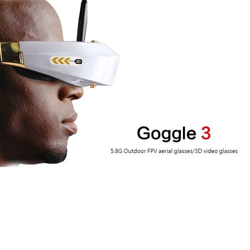 Walkera Goggle 3 Glasses 5.8G 32CH Head Tracker 3D Video Glasses