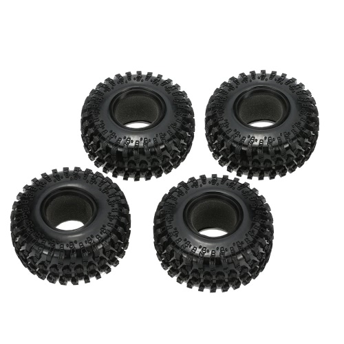"4Pcs Austar 2.2 ""125mm 1/10 escala de neumáticos para 1/10 RC4WD D90 Axial SCX10 RC Rock Crawler"