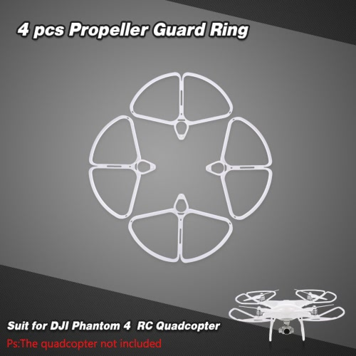 4pcs del propulsor guardia de anillo Conjunto de DJI Phantom 4 RC Quadcopter