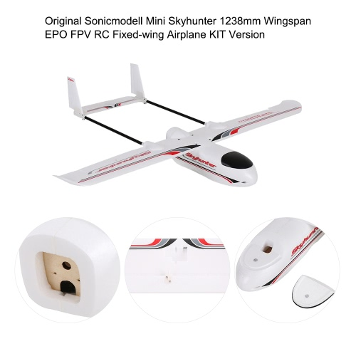 Original Sonicmodell Mini Skyhunter 1238mm Wingspan EPO FPV RC Fixed-wing Airplane KIT Version