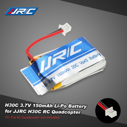 Original JJRC H30C 3.7V 150mAh 20C 1S Li-Po Battery for JJRC H30C RC Quadcopter