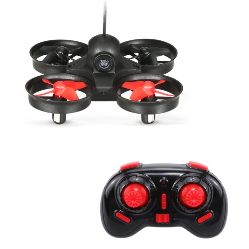 Оригинальная NIHUI NH-010 5.8G FPV 1.0MP камера Mini Drone Anti-crush UFO UAV 6-осевой гироскоп безголового 3D-флип Quadcopter