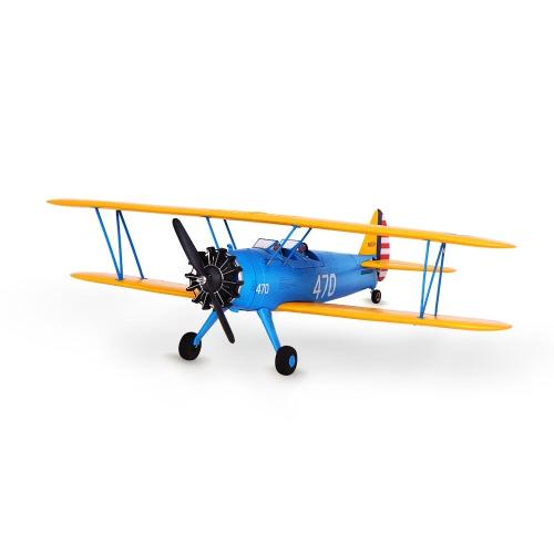 Unikatowy samolot PT-17 Biplane 1200mm Wingspan EPO Samolot statyczny Wersja samolotowa PNP RC (z ESC, Motor, Servo)