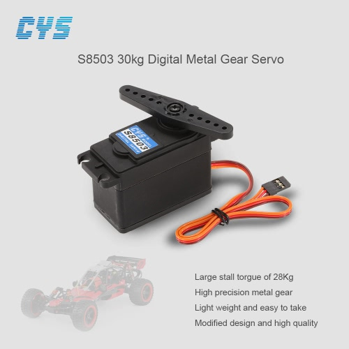 CYS S8503 30kg Digital Metal Gear Servo for 1/5 Redcat HPI Baja 5B SS RC Car