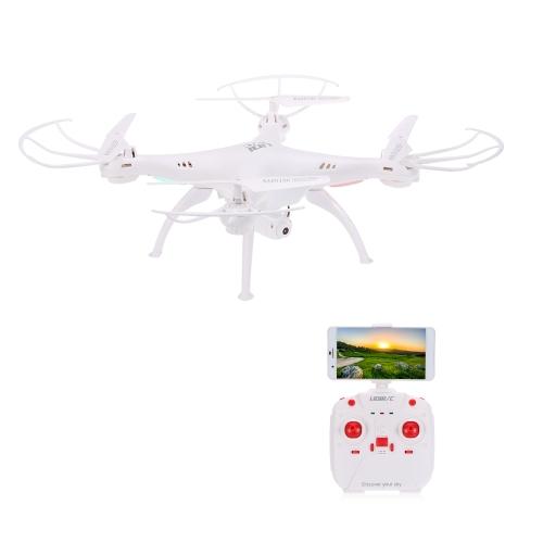 Oryginalny LiDi RC L15FW 2.4G 4CH 6-osiowy Gyro Wifi FPV Transmisji 0.3MP Kamera W Pełni Wodoodporna RC Quadcopter