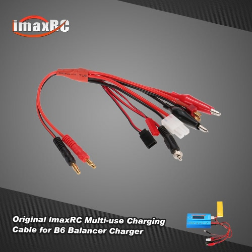 Original imaxRC Multi-use Charging Cable with Banana Connector for B6 Balance Charger