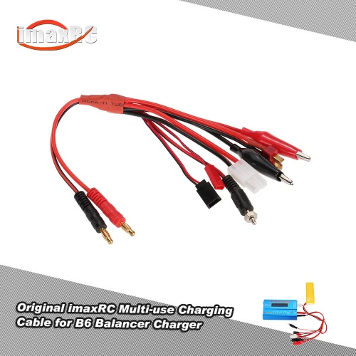 Oryginalny imaxRC Wielofunkcyjny Charging Cable with banana Connector dla balansu Charger B6