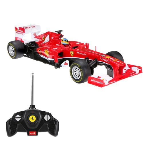 RASTAR 53800 1/18 Ferrari F1 Racing RC velocidad de radio control remoto de coches de coches Drift pista Niños regalo original para vehículos de juguete
