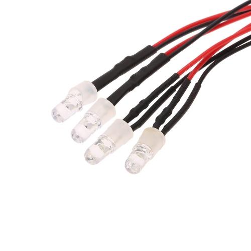 4 LED Light Kit 2 White 2 Red