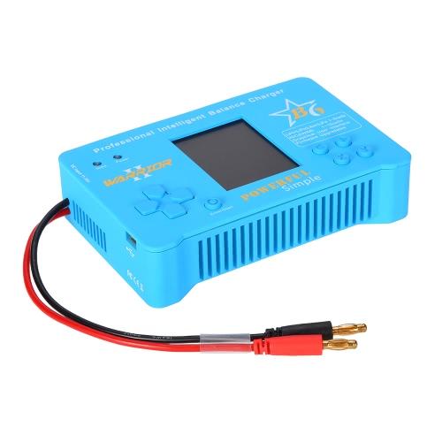WARRIOR B6 CPUD 100 W LiPo Li-Ion LiFe NiMH NiCd Pb Bateria Profesjonalna równowaga ładowania / rozładowania do śmigłowca RC Drone Samochód