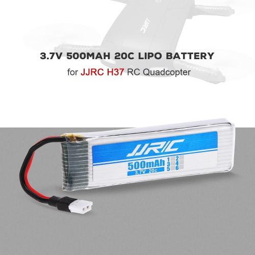 JJR/C 3.7V 500mAh 20C LiPo Battery for JJR/C H37 GoolRC T37 RC Quadcopter