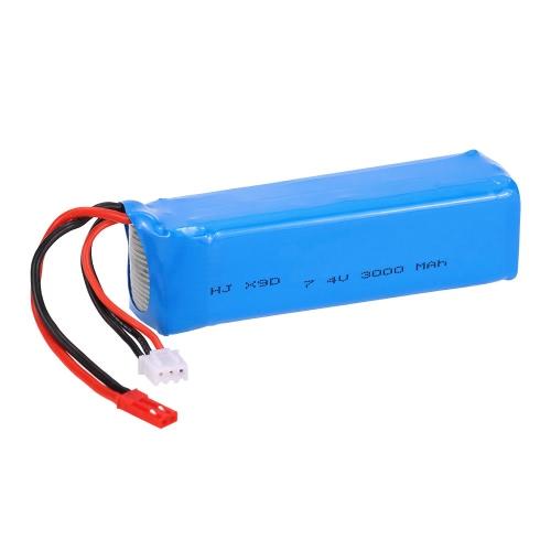 Batteria 7.4V 3000mAh LiPo