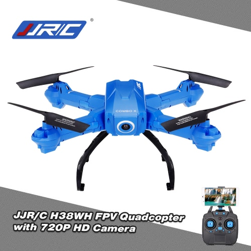 Original JJR/C H38WH Wifi FPV 720P HD 120° Wide Angle Camera Drone 2.4Ghz G-Sensor Height Hold Selfie RC Quadcopter RTF