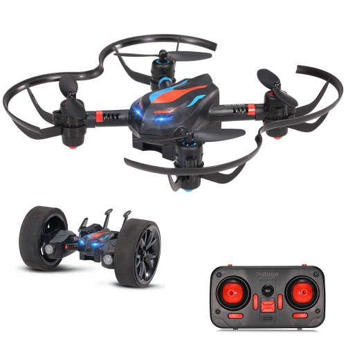 LiDiRC L18 2.4G 6 axes RC Quadcopter Drone Vehicle Car
