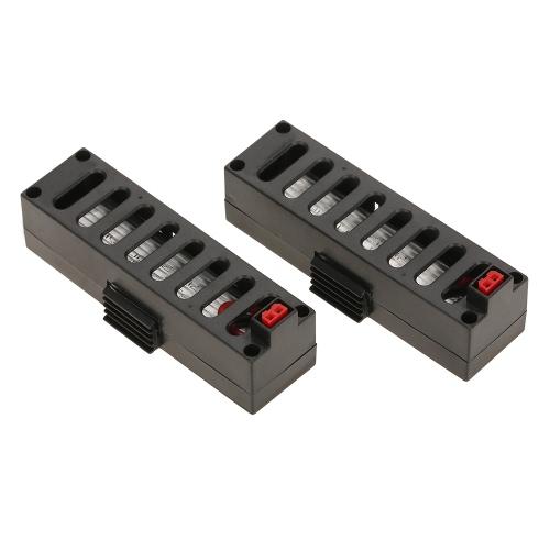 2pcs 3.7V 500mAh LiPo Batterie für JDTOYS JD-18 JUN YI SPIELZEUG JY018 Wifi FPV Quadcopter