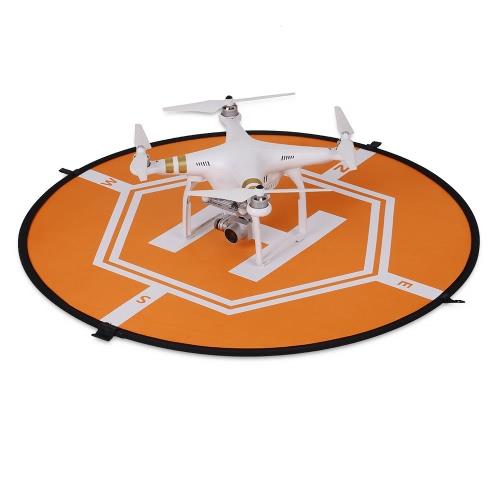 80cm Tarmac Apron Fast Foldable Retractable Fluorescence Landing Pad pour DJI Mavic Pro Phantom 3 4 FPV Quadcopter RC Helicopter