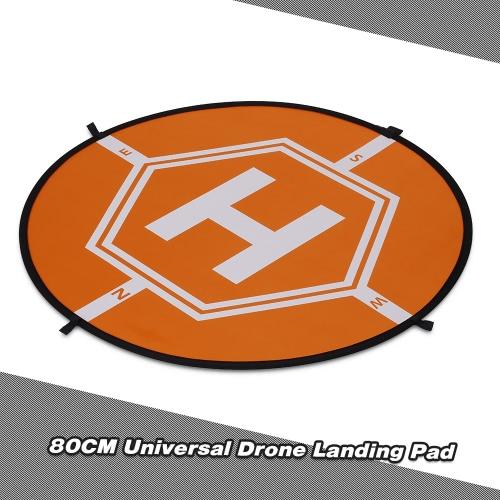 80cm Tarmac Apron Fast Foldable Retractable Fluorescence Landing Pad for DJI Mavic Pro Phantom 3 4 FPV Quadcopter RC Helicopter