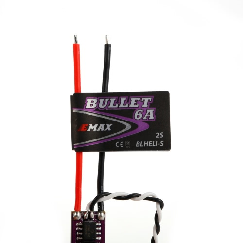 EMAX 6A Brushless ESC Bullet Series BLHeli-S Dshot 2S Electric Speed Controller for 88 90 100 FPV Racer Quadcopter