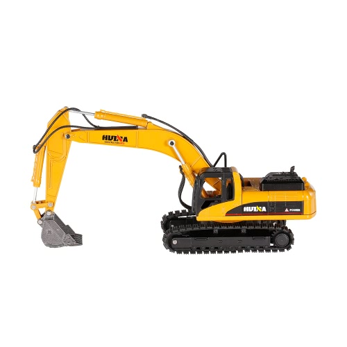HUI NA TOYS 1710 1/50 Excavator Engineering Vehicle with Alloy Bucket Kids Toy Gift Housing Decoration Collection