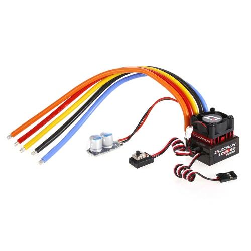 Original Hobbywing QuicRun 10BL60 Brushless Sensore 60A ESC 2-3S 6V / 2A BEC per 1/10, 1/12 Touring Cars