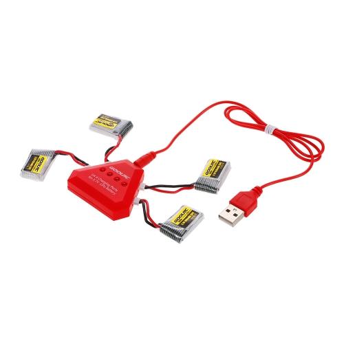 4 sztuki GoolRC 3.7V 150mAh 30C akumulatora Li-po