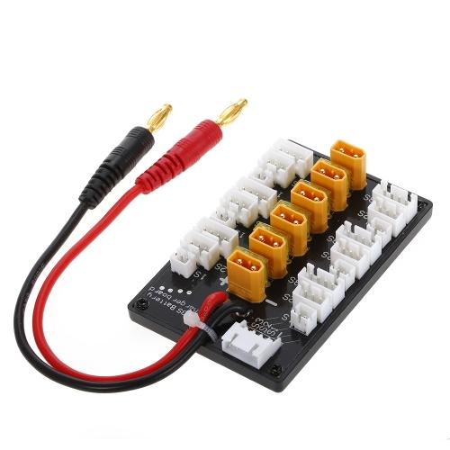 1-3S XT30 Stecker Lipo Batterie Parallel Ladeanschluss für IMAX B6 Ladegerät