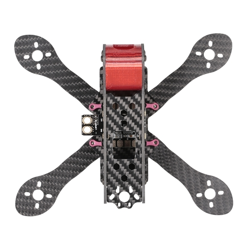 GEPRC GEP-AX4 180-мм X-Type 4in Carbon Fiber FPV Racing Drone Quadcopter Frame Kit с XT60 Power Distributor LEDs