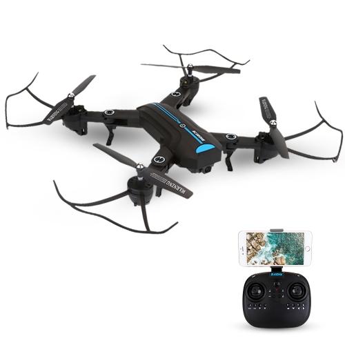 A6W Pliable 2.0MP Caméra Wifi FPV Drone 6-Axe Gyro Altitude Tenue Sans Mode G-capteur RC Quadcopter