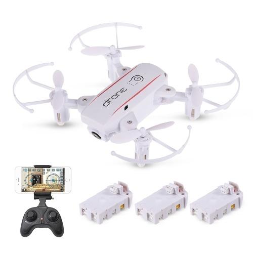 Linxtech IN1601 2.4G 0.3MP Wifi FPV Składany wysokopodłogowy RC Drone Quadcopter